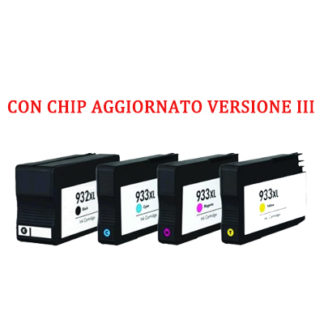 Cartuccia compatibile Nero per Hp 932XL
