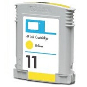 Cartuccia compatibile HP 11 C4838A giallo