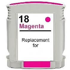 Cartuccia compatibile HP 18 C4938A magenta