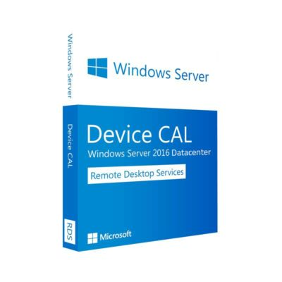 Licenza Windows Server 2016 Datacenter RDS 10 Device CALs