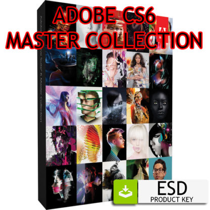 Adobe Creative Suite 6 CS6 Master Collection - ESD Windows Multilingua