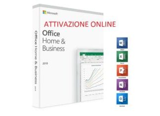 Licenza Microsoft Office 2019 Home and Business win BIND