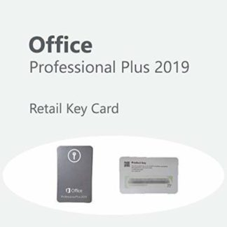 key card Office 2019 pro plus bind